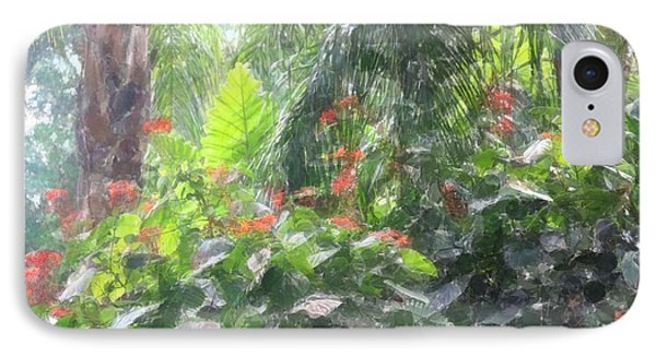 IPhone Case featuring the photograph Tropical Paradise by Donna  Smith
