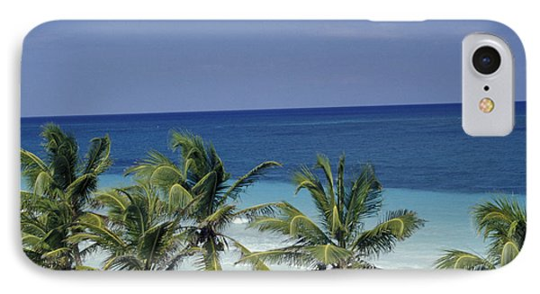 IPhone Case featuring the photograph Tropical Paradise Sian Kaan Mexico by John  Mitchell
