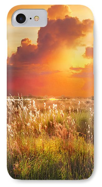 Tropical Savannah IPhone Case by Francesa Miller