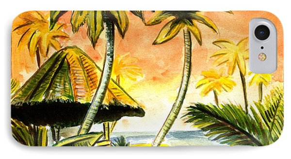 Tropical Skies Phone Case by John Keaton