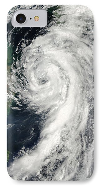 Tropical Storm Dianmu Phone Case by Stocktrek Images