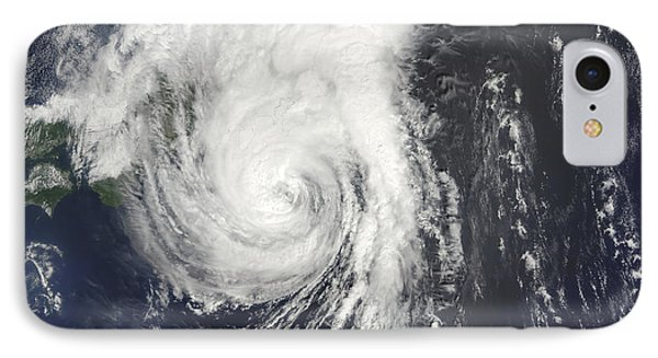 Tropical Storm Krovanh Phone Case by Stocktrek Images