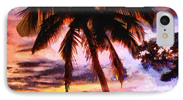 Tropical Sunset IPhone Case by Anthony Caruso