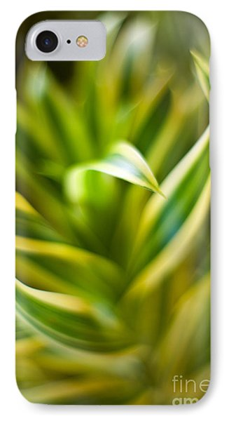 Tropical Swirl IPhone Case by Mike Reid