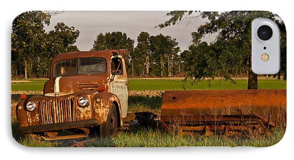 Truck And Tank 31 IPhone Case by Douglas Barnett