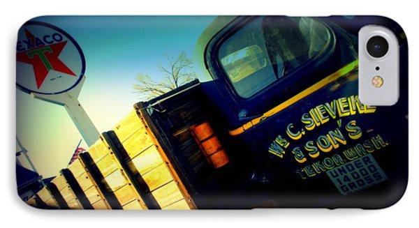 Truck On Route 66 Phone Case by Susanne Van Hulst