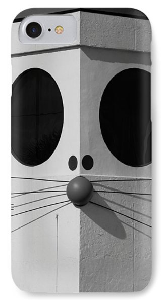 Truly Nolen Rat In Black And White Phone Case by Rob Hans