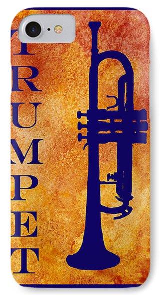 Trumpet Phone Case by Jenny Armitage