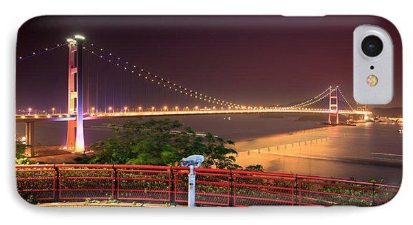Tsing Ma Bridge IPhone Case by MotHaiBaPhoto Prints