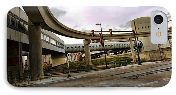 Tube Track Road IPhone Case by Gordon Dean II