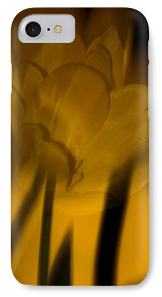 IPhone Case featuring the photograph Tulip Abstract by Ed Gleichman