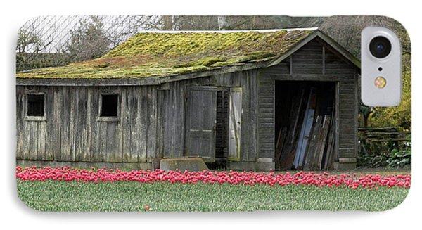 Tulip Barn Phone Case by Mitch Shindelbower