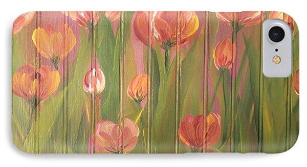 Tulip Field IPhone Case by Kathy Sheeran