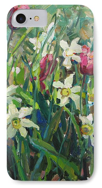Tulips And Narcissuses IPhone Case