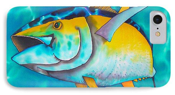 Tuna Phone Case by Daniel Jean-Baptiste