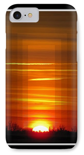 Tunnle Vision Phone Case by Debbie Portwood