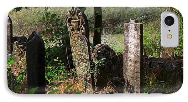 Turkish Cemetery In Rural Mugla Province IPhone Case by Louise Heusinkveld