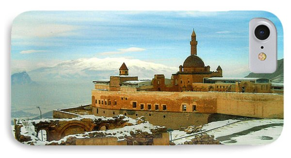 IPhone Case featuring the photograph Turkish Fortress by Lou Ann Bagnall