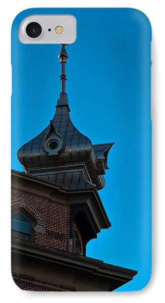 IPhone Case featuring the photograph Turret At Tampa Bay Hotel by Ed Gleichman