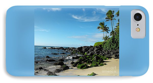 Turtle Beach Oahu Hawaii IPhone Case by Rebecca Margraf