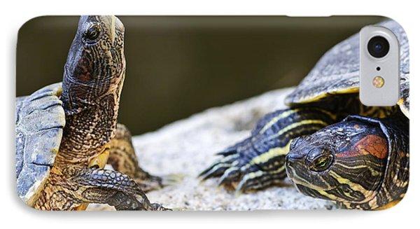 Turtle Conversation IPhone Case