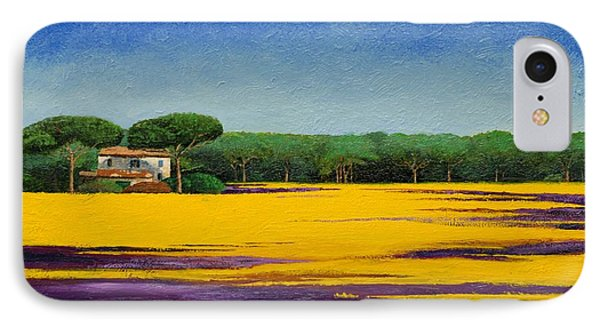 Tuscan Landcape Phone Case by Trevor Neal