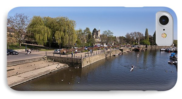 IPhone Case featuring the photograph Twickenham On Thames by Maj Seda