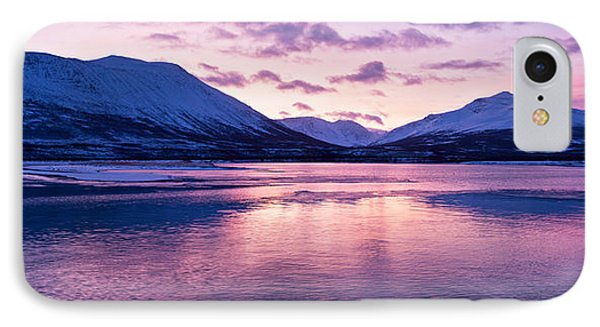 Twilight Above A Fjord In Norway With Beautifully Colors Phone Case by U Schade