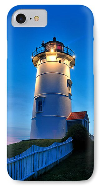Twilight At Nobska Point IPhone Case by Thomas Schoeller