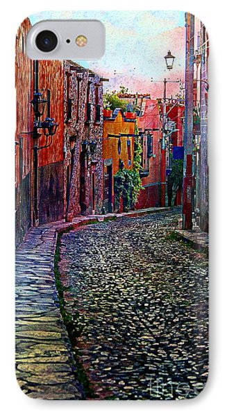 Twilight In San Miguel De Allende Phone Case by John  Kolenberg