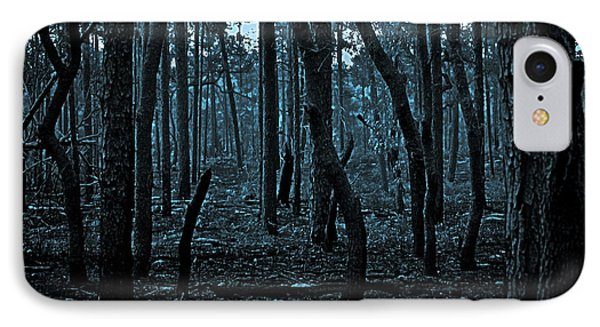 Twilight In The Smouldering Forest IPhone Case by DigiArt Diaries by Vicky B Fuller
