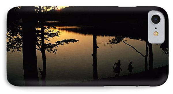Twilight Over Walden Pond, Made Famous Phone Case by Tim Laman