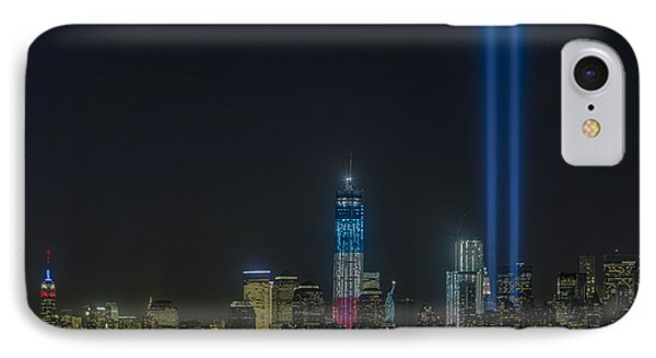 Twin Lights IPhone Case by Susan Candelario