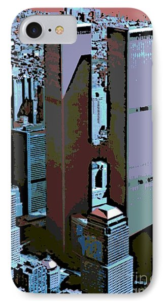 Twin Towers Phone Case by George Pedro