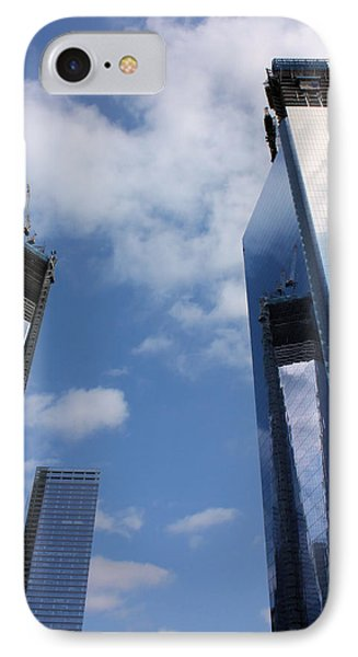 Twin Towers Phone Case by Kristin Elmquist