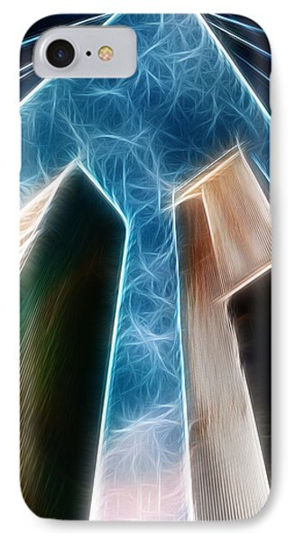 Twin Towers Phone Case by Paul Ward
