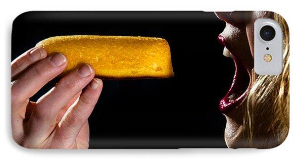 Twinkie Bite Phone Case by Scott Sawyer