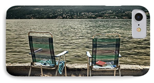 Two Chairs Phone Case by Joana Kruse