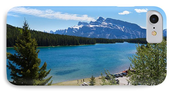 Two Jack Lake Phone Case by Bob and Nancy Kendrick