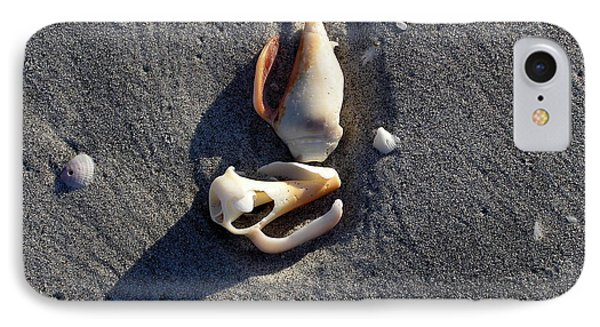 Two Shells On The Beach IPhone Case