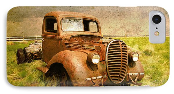 Two Ton Truck IPhone Case by Alyce Taylor