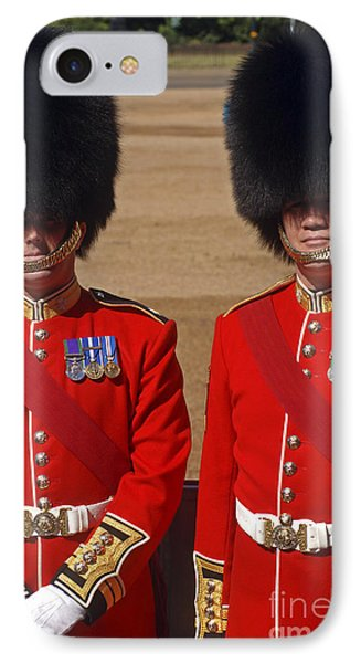Two Warrant Officers Of The Irish Phone Case by Andrew Chittock