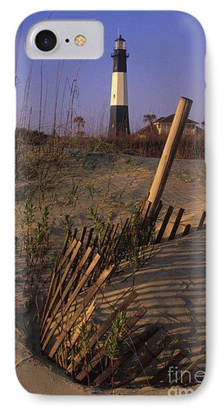 Tybee Island Lighthouse - Fs000812 IPhone Case
