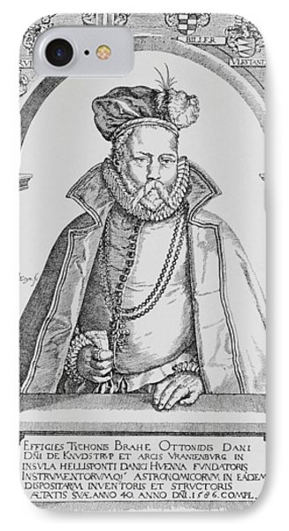 Tycho Brahe Phone Case by Science, Industry & Business Librarynew York Public Library
