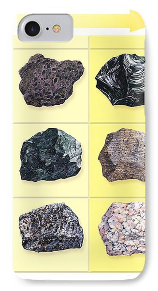 Types Of Volcanic Rock Phone Case by Gary Hincks
