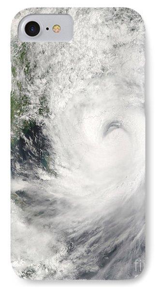 Typhoon Prapiroon Phone Case by Stocktrek Images