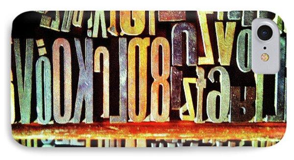 Typography IPhone Case
