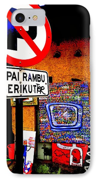 Ubud Art Street  Phone Case by Funkpix Photo Hunter