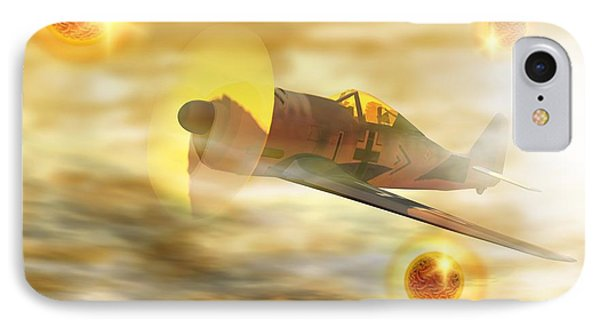 Ufos From World War II IPhone Case by Victor Habbick Visions