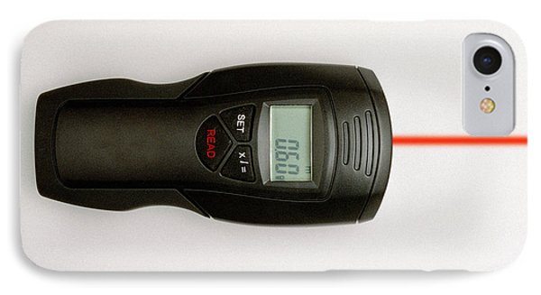 Ultrasonic Tape Measure IPhone Case